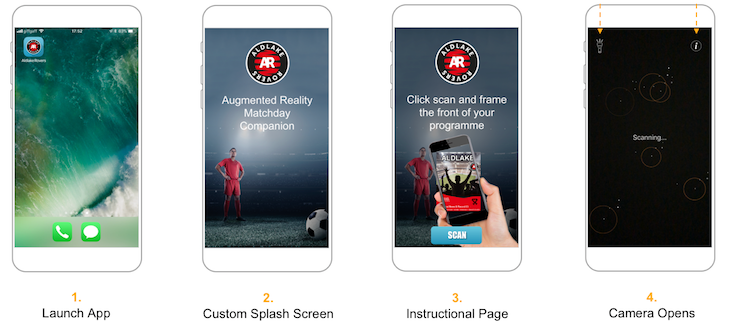 Augmented reality examples - AR app